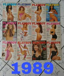 Revistas Playboy Ano 1989, Completas!