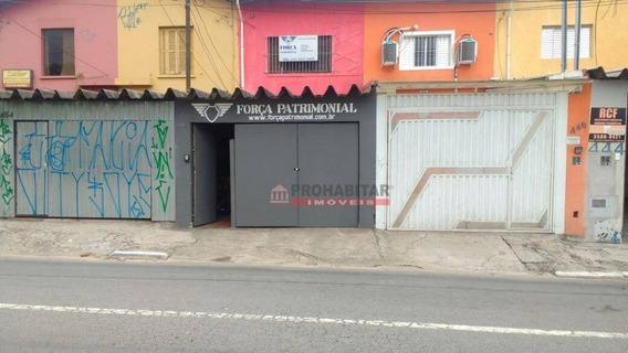 Sobrado Residencial À Venda, Jardim Bélgica Região De Santo Amaro, São Paulo. - So2496