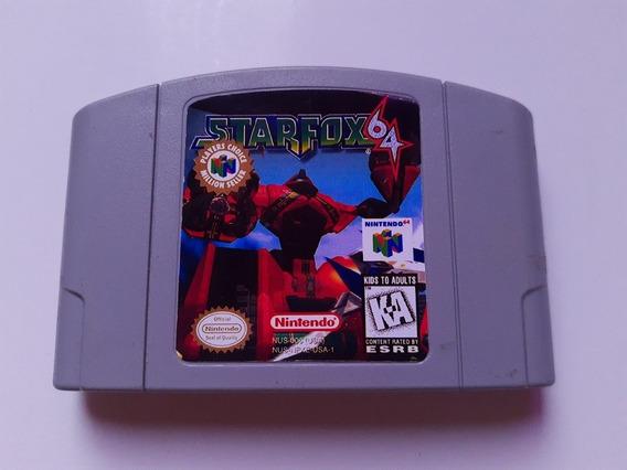 Starfox 64 N64 Original Starfox Nintendo 64 Original 100% Ok
