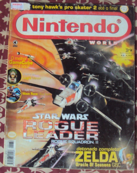Revista Nintendo World - Ed. Nº 39