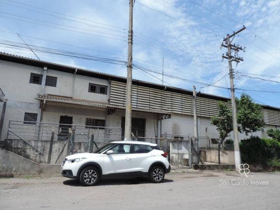 Galpão Para Alugar, 705 M² Por R$ 11.000/mês - Vila Jovina - Cotia/sp - Ga0068