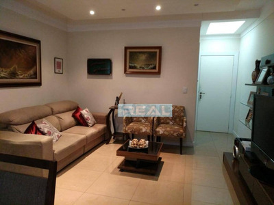 Apartamento Com 3 Dormitórios À Venda, 85 M² Por R$ 450.000 - Condomínio Residencial Das Pedras - Paulínia/sp - Ap1115