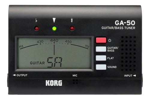 Afinador Compacto Cromático Korg Ga-50