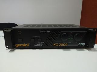 Gemini Potencia Xg-2000 Usado _s