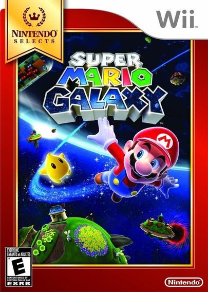 Jogo Super Mario Galaxy - Wii Mídia Física Usado