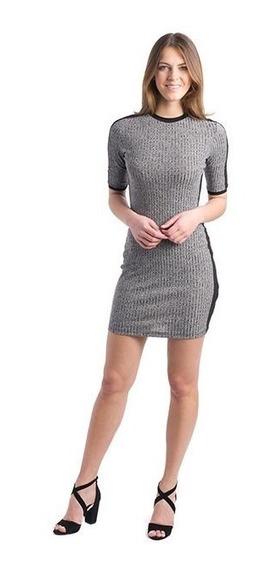 Vestido Gris Marca Sahara Para Mujer Pr-3143692