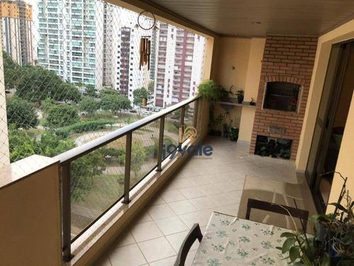 Apartamento Com 4 Dormitórios À Vendem Frente A Praçã - Jardim Aquarius - São José Dos Campos/sp - Ap2498
