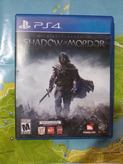 Middle Earth Shadow Of Mordor (ps4) Juego Fisico