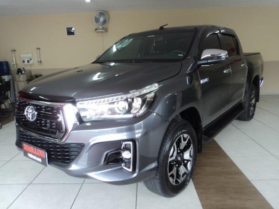 Toyota Hilux 2.8 Srx Cab. Dupla 4x4 Tdi Aut 2019/2020 Cinza