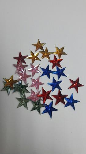 Strass Apliques Estrellas Manualidades Tarjeteria X 2 Ref