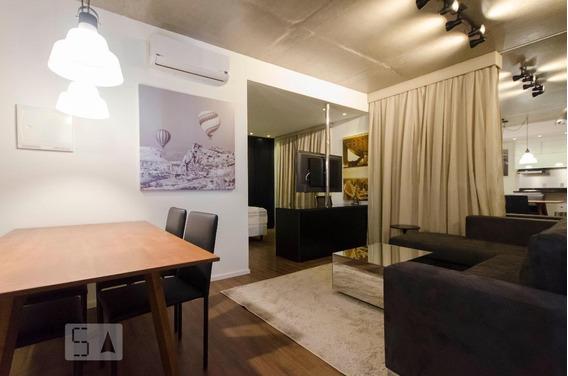 Apartamento Para Aluguel - Brooklin, 1 Quarto, 62 - 892795981