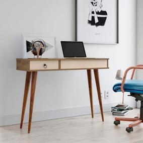 Aparador Multi Penteadeira C/espelho Mesa Office - Off White