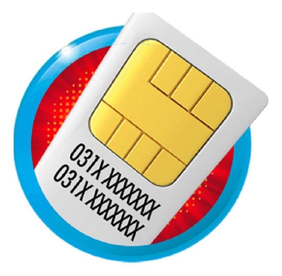 Chip Para Rastreador M2m Internet Recebe Sms Tg02 Tk303