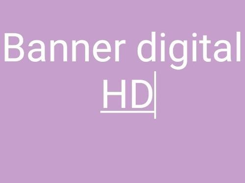 Imagem 1 de 1 de Banner Digital