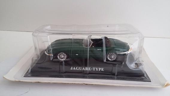 Miniatura Jaguar E Type Coleção Auto Collection 1/43