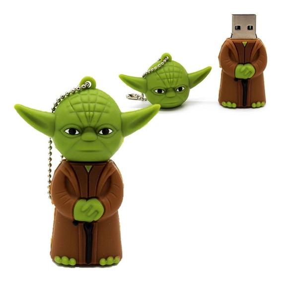 Pendrive 32gb Star Wars Personalizado Filme Mestre Yoda Usb