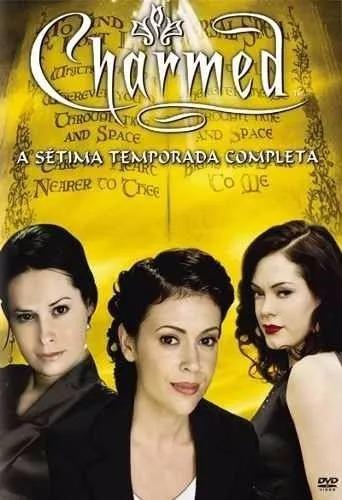 Box Dvd Charmed - 7º Sétima Temporada Completa - Lacrado