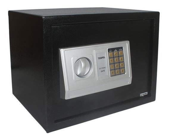 Cofre Eletrônico Digital 30cm Com Prateleira 2 Chaves E30db