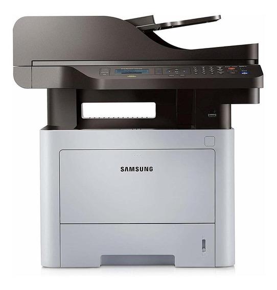 Impressora multifuncional Samsung ProXpress SL-M4070FR 110V preta e branca