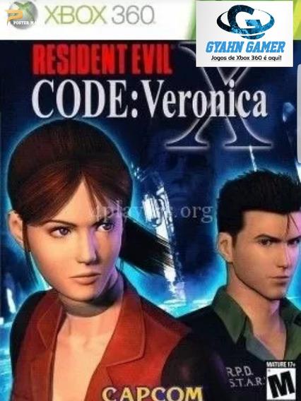 Resident Evil Code: Veronica X, Midia Digital/ Xbox360
