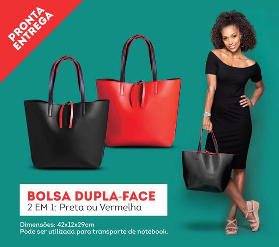 Bolsa Dupla-face (2 Em1: Preta E Vermelha) - Laptop Notebook