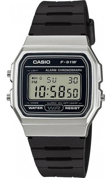 Relógio Casio Masculino F-91wm-7adf Original C/ Nota Fiscal