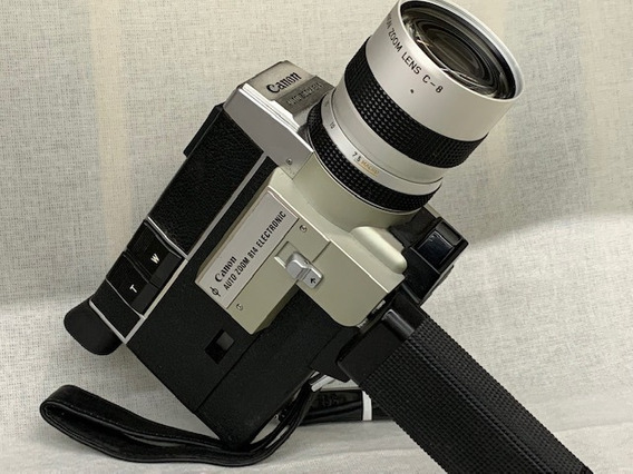 Filmadora Canon Super 8 Auto Zoom 814. (coleção)