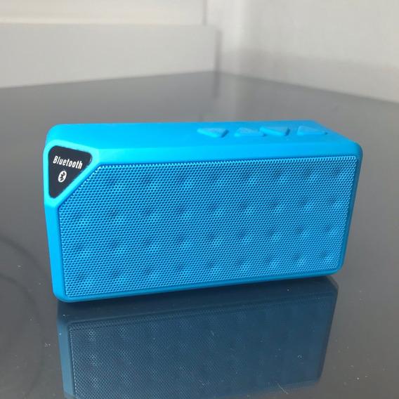 Mini Caixa De Som Bluetooth X3 Fashion Style