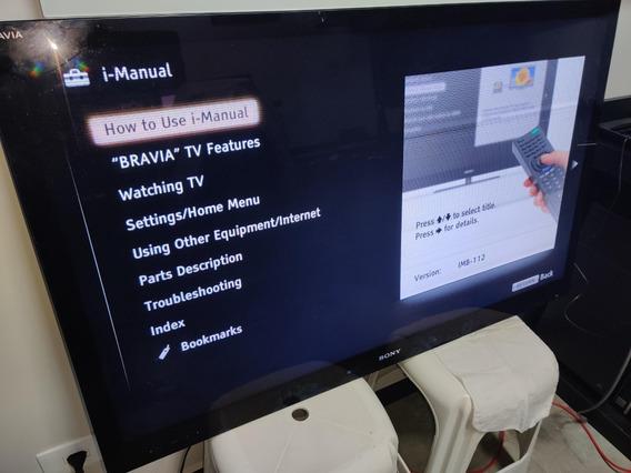 Tv Sony Kdl-46hx825 / 46 / Cristal Liquido / Leia