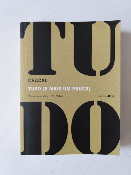 Livro Chacal Poesia Reunida (1971-2016)