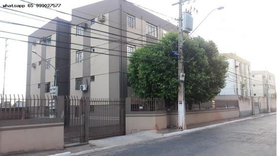 Apartamento/usado Para Venda Em Cuiabá, Residencial São Carlos, 2 Dormitórios, 1 Banheiro, 1 Vaga - 432_1-1403952
