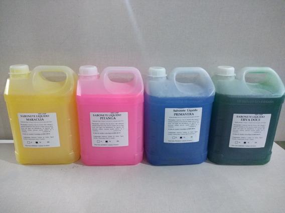 Sabonete Liquido Para As Mãos 4 Galões De 5 Litros