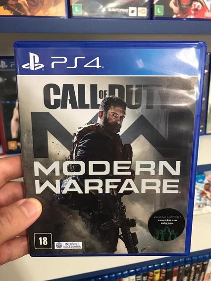 Call Of Duty - Modern Warfare - Ps4 - Mídia Física C/ Pôster