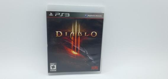 Diablo 3 - Mídia Física Em Cd - Ps3