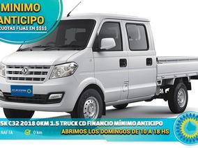 Dfsk C32 2018 0km 1.5 Truck Cd Financio Mínimo Anticipo