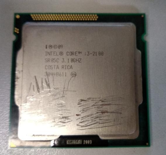 Processador Intel I3 2100 3.1 Mhz Lga 1155 2ª Geração