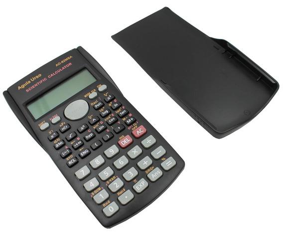 Calculadora Cientifica Digital 12 Digitos 240 Funções + Capa