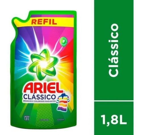 Sabão Líquido Refil Ariel Clássico 1.8l
