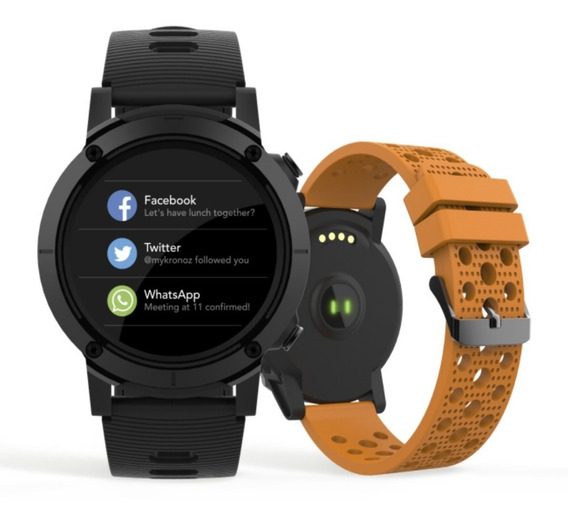 Relógio Smartwatch Masculino Gps Troca Pulseira 79004g0svnv1
