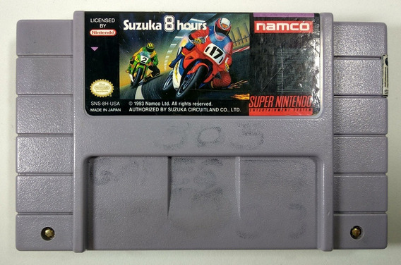 Suzuka 8 Hours Original - Snes