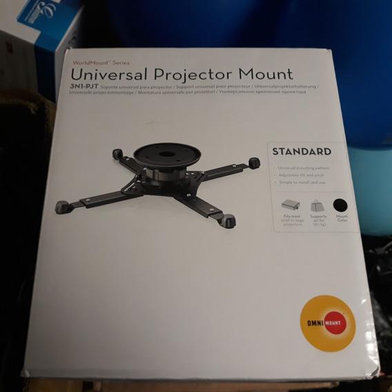 Base Soporte Proyector Techo Universal