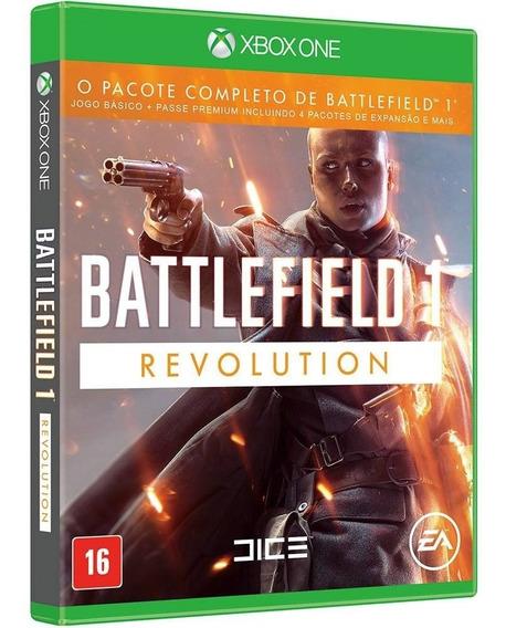 Jogo Battlefield 1 Revolution Xbox One Midia Fisica Nacional