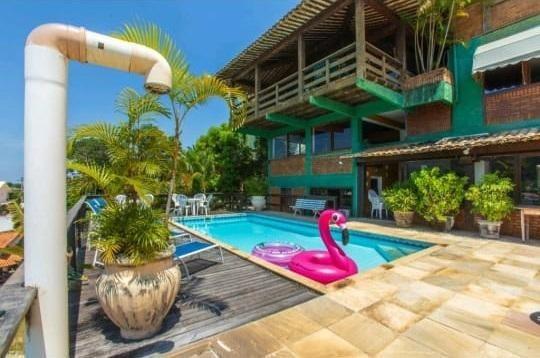 Casa Em Piratininga, Niterói/rj De 402m² 5 Quartos À Venda Por R$ 1.500.000,00 - Ca323281