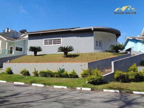 Imagem 1 de 19 de Casa Térrea Com 04 Suites Para Venda E Locação - Jardim Imperial Hills Iii - Ca0075