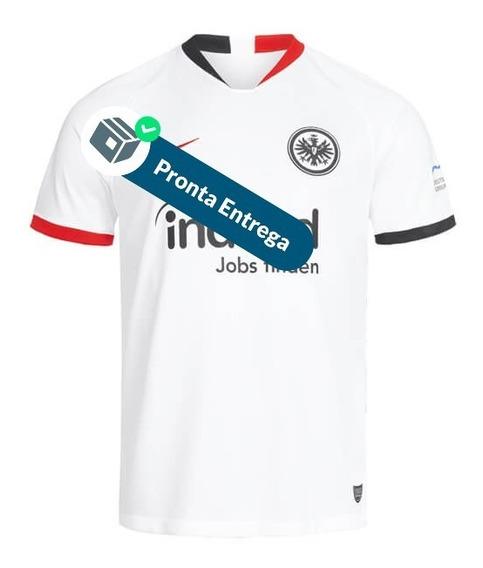 Camisa Eintracht Frankfurt 19/20 2º Unif. - Pronta Entrega