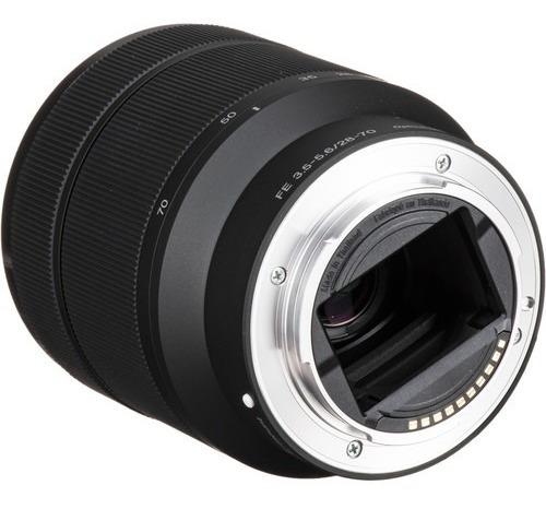 Lente Sony Fe 28-70mm F/3.5-5.6 Oss Lacrada Na Caixa Com Nf