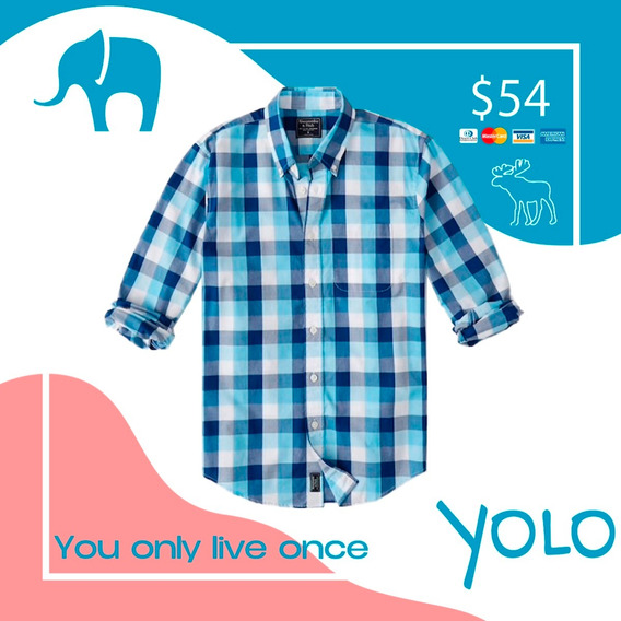 Camisa Abercrombie Talla M