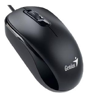 Mouse Con Cable Usb Genius Dx-110 Optico Garantia Oficial