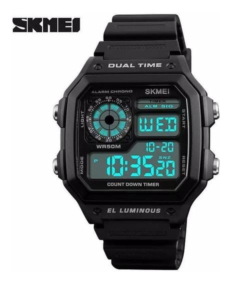 Relógio Masculino Esportivo Skmei 1335 A Prova D
