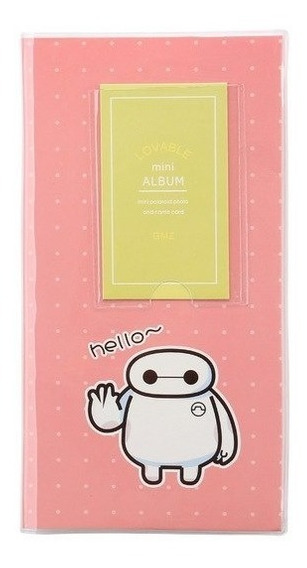 Album Photocard Polaroid Baymax Big Hero Kpop Pronta Entrega
